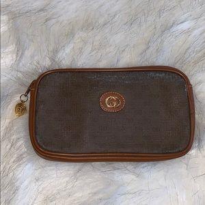 Vintage Gucci cosmetic case